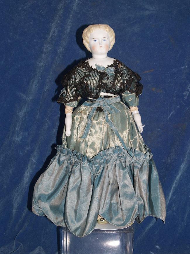 реплика антикварной куклы для однодневного мастер класса