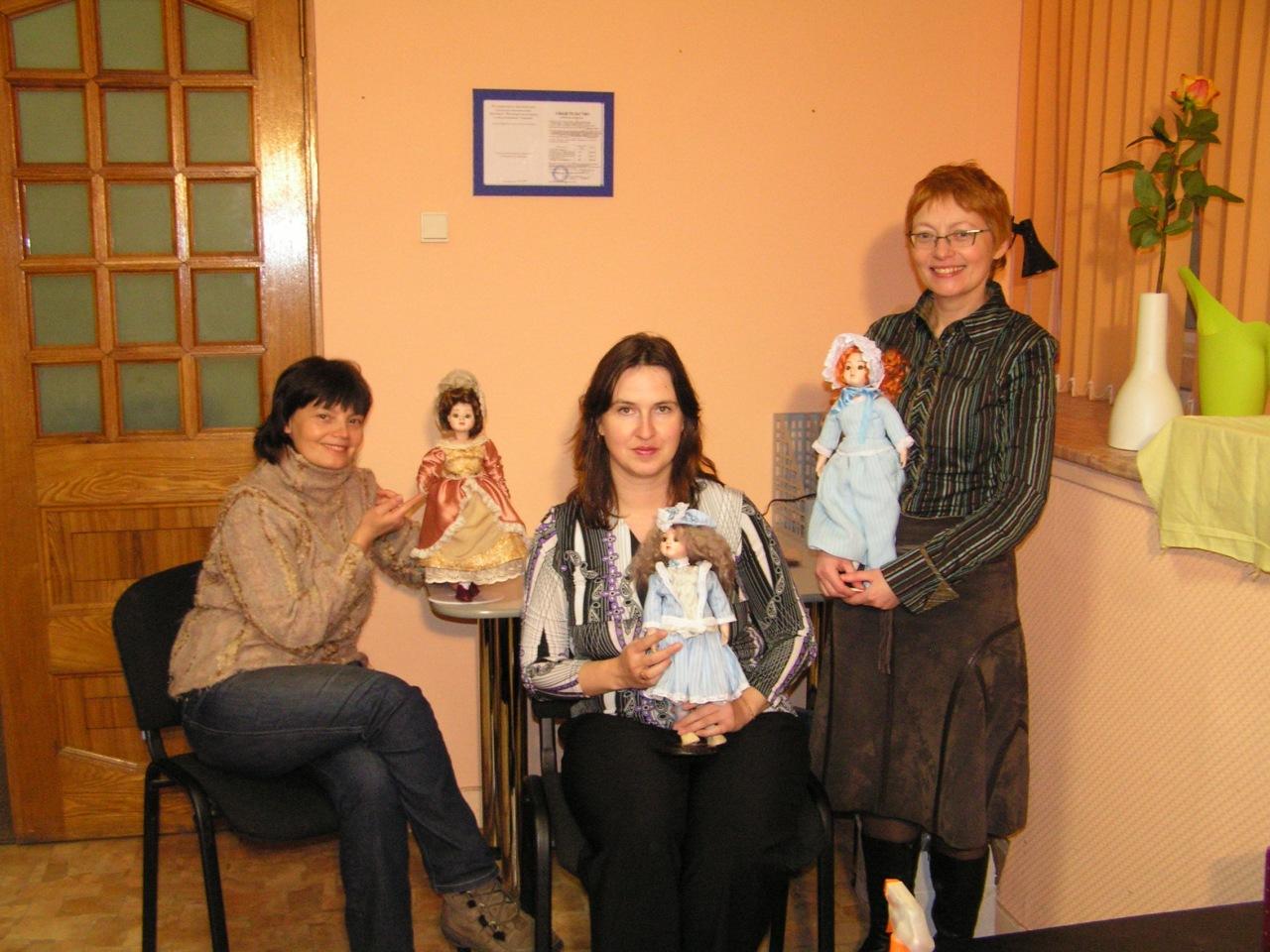 выпуск курса Реплики антикварных кукол